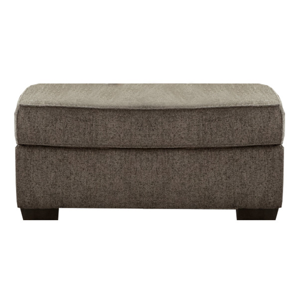 Affordable 7305 Camero Pewter Ottoman