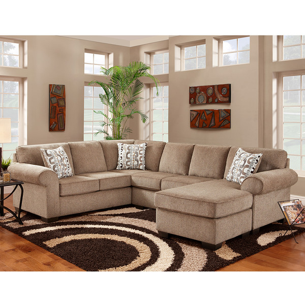 Affordable 3050 Jesse Cocoa Sectional