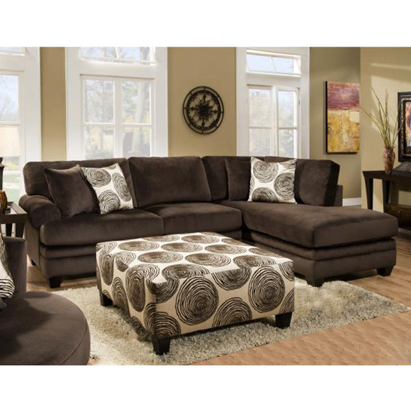 Dickson 1025 Jamba Fudge Sectional