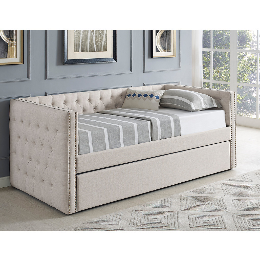 Crown Mark 5335 Trina Ivory Daybed