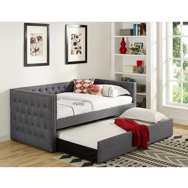 Crown Mark 5335 Trina Grey Daybed