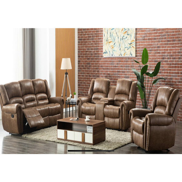 Rivercreek Saddle Sofa, Love, and Recliner