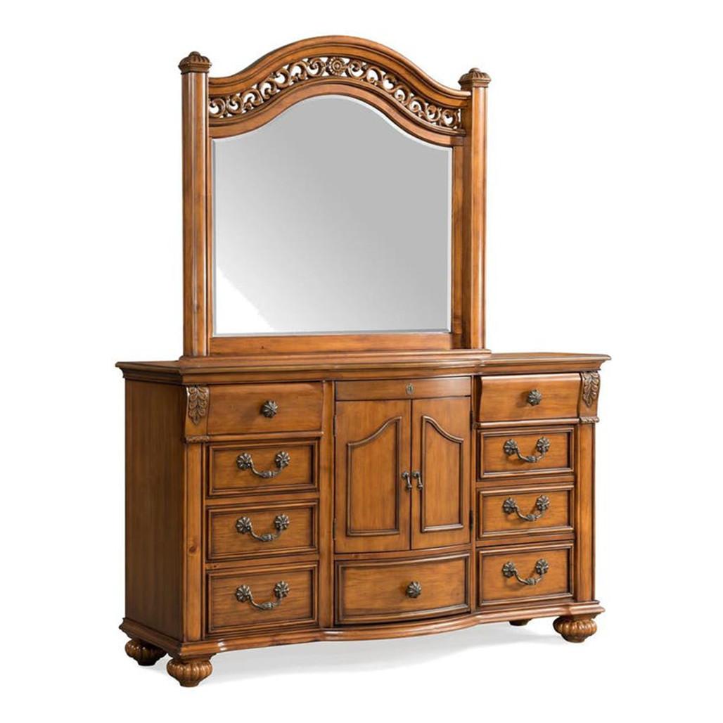 Barkley Square Dresser and Mirror