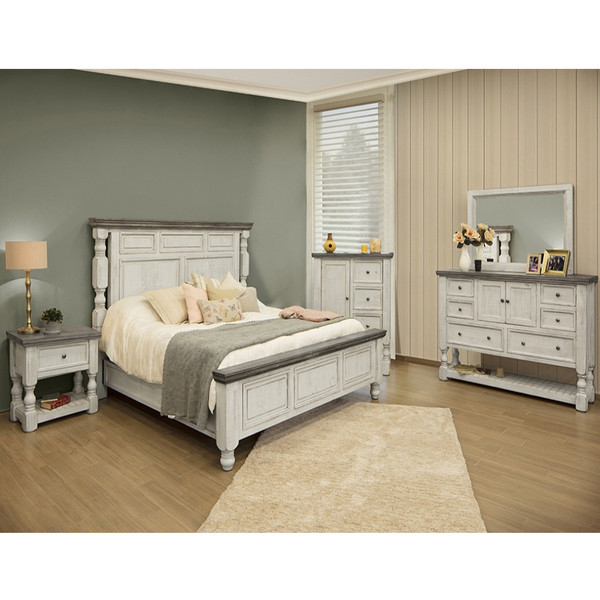 IFD 4690 Stone Bedroom Set