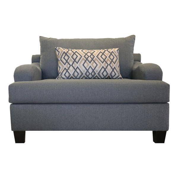 Zander Charcoal Chair