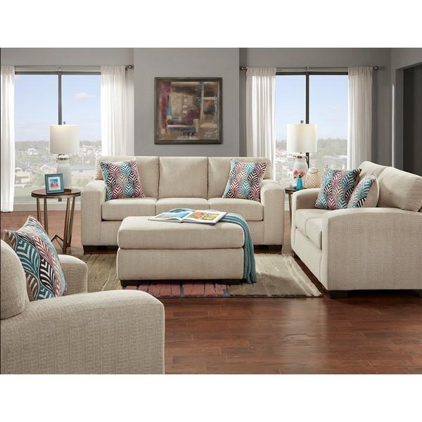 Silverton Platinum Sofa and Love
