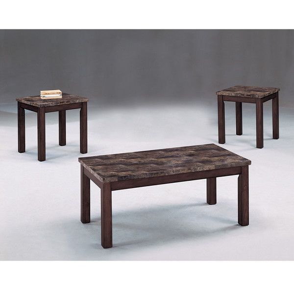 Thurner Brown Coffee and End Tables