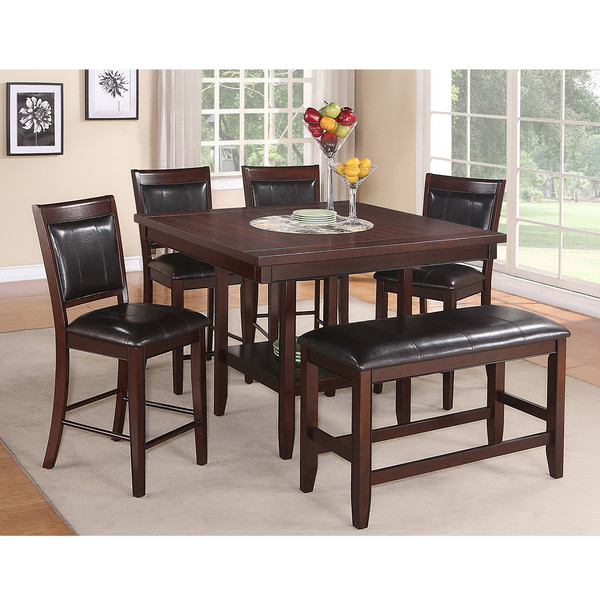 Fulton Brown Counter Height Dining Room Set