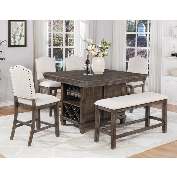 Regent Counter Height Dining Room Set