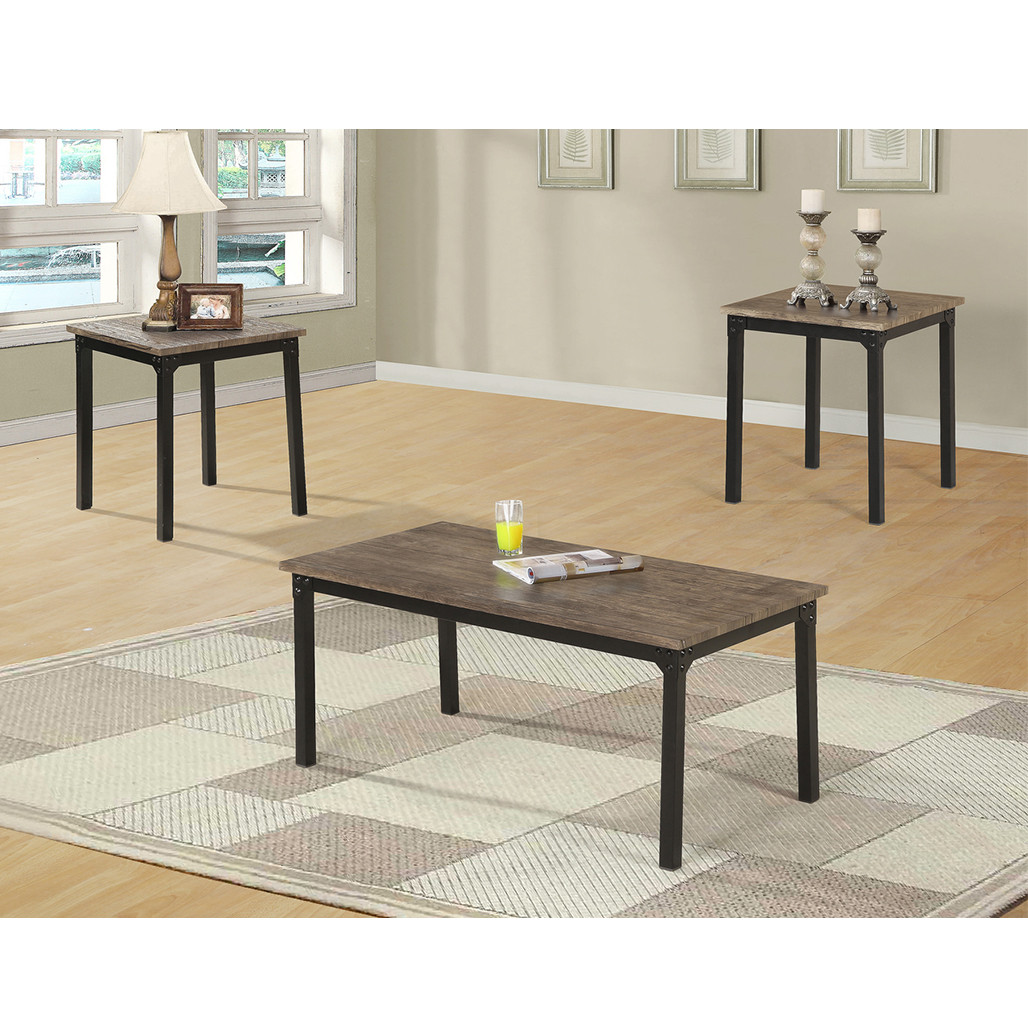 Liam Brown Coffee and End Tables