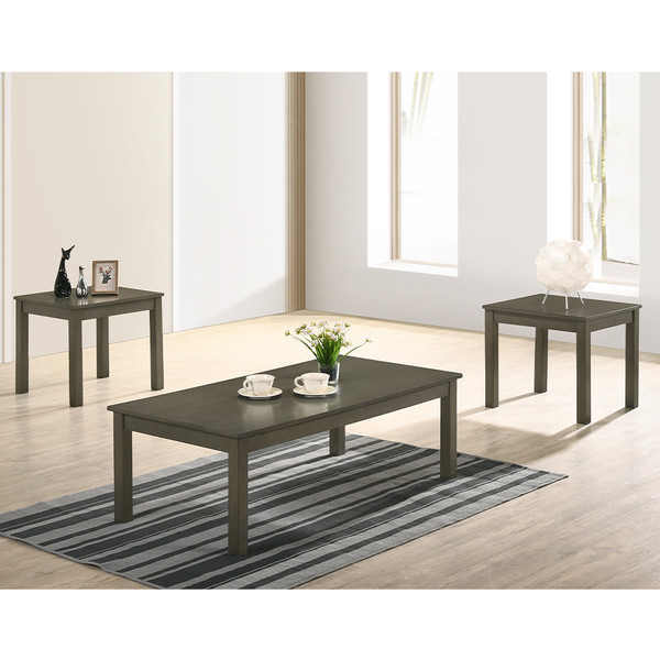 Pierce Grey Coffee and End Tables