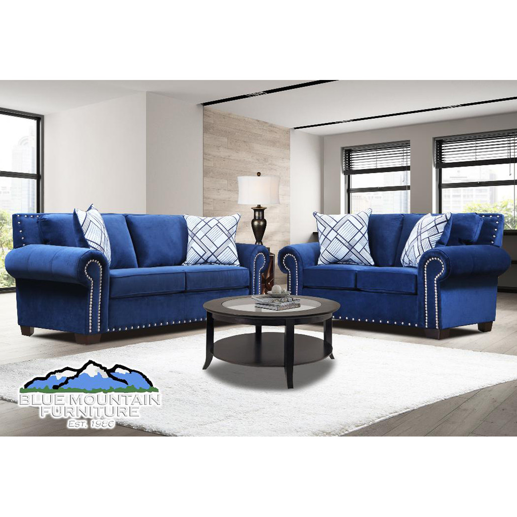 Picture of: Blue Sofa And Love