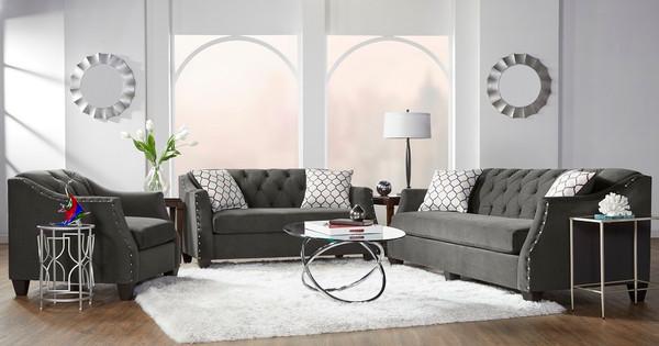 Bing Ash Sofa, Love, and Chair