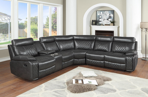 Texas Star 3 Piece Reclining Sectional