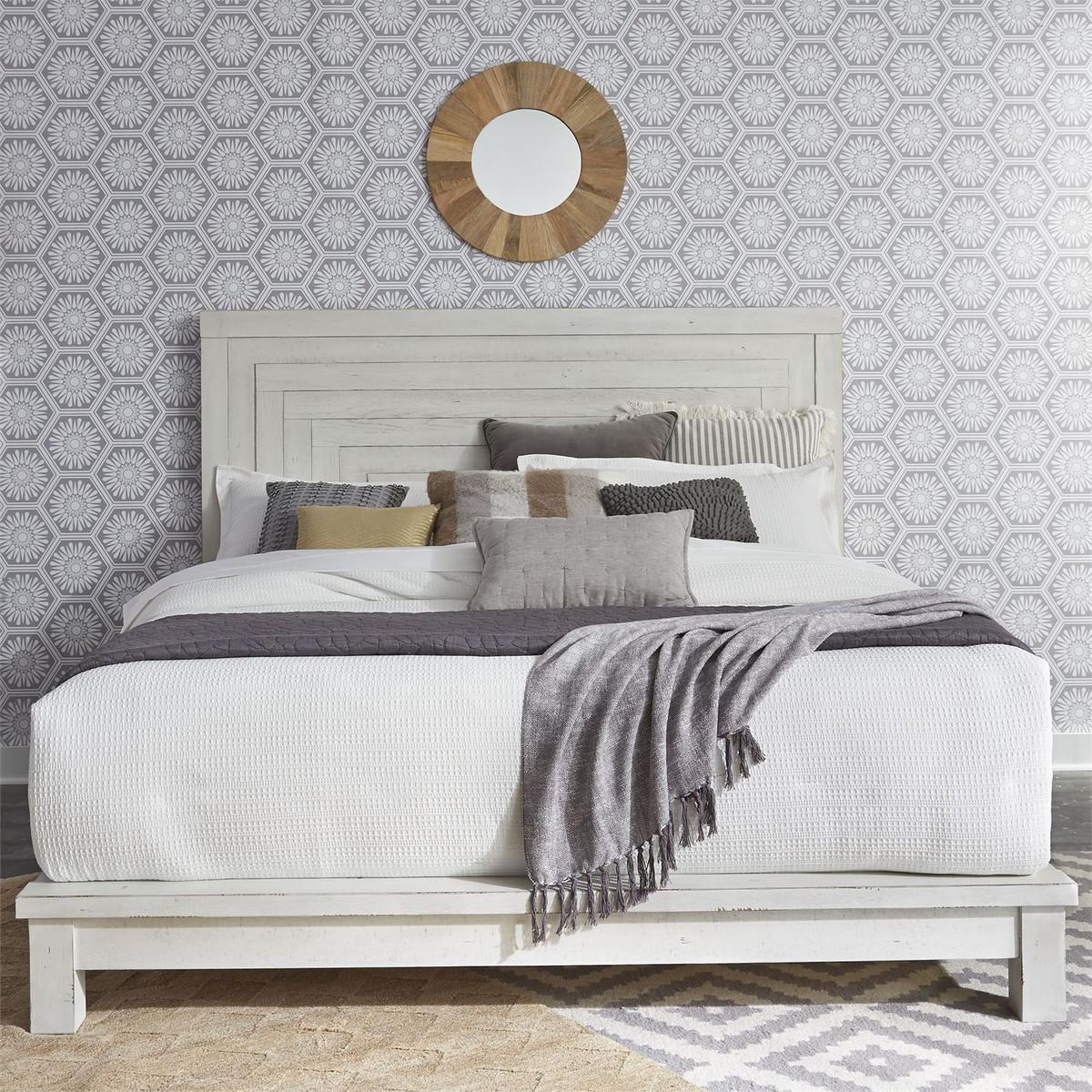 MODERN FARMHOUSE WHITE BEDROOM SET