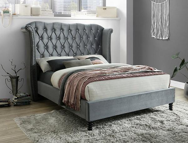 Hollywood Grey Bed