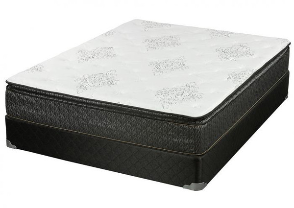 8520 Foam Encased Pillow Top Mattress and Box