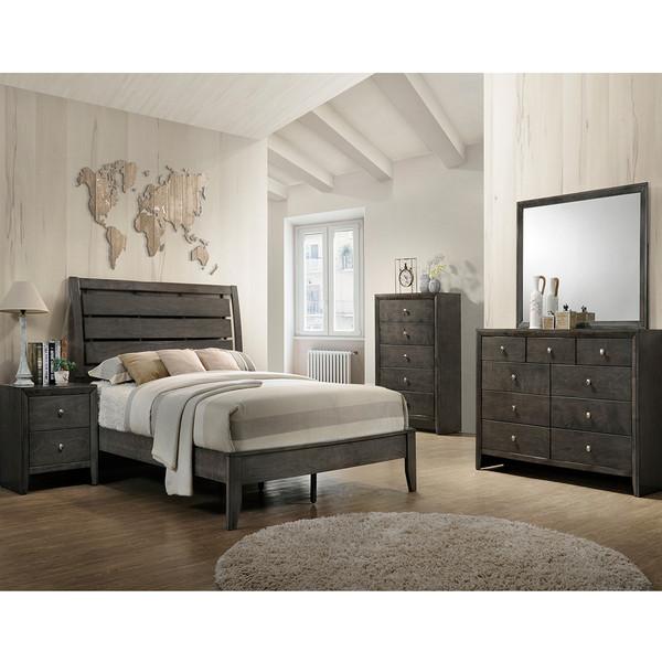 Evan Grey Bedroom Set
