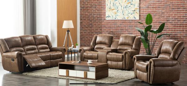 Rivercreek - 3pc Reclining Set Sofa, Love, and Recliner