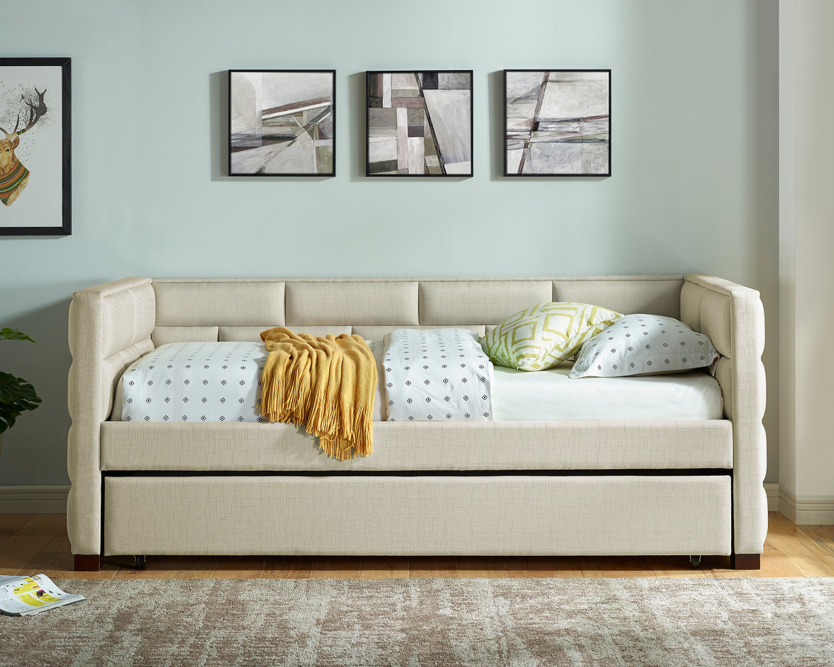 Flannery Ivory  Daybed