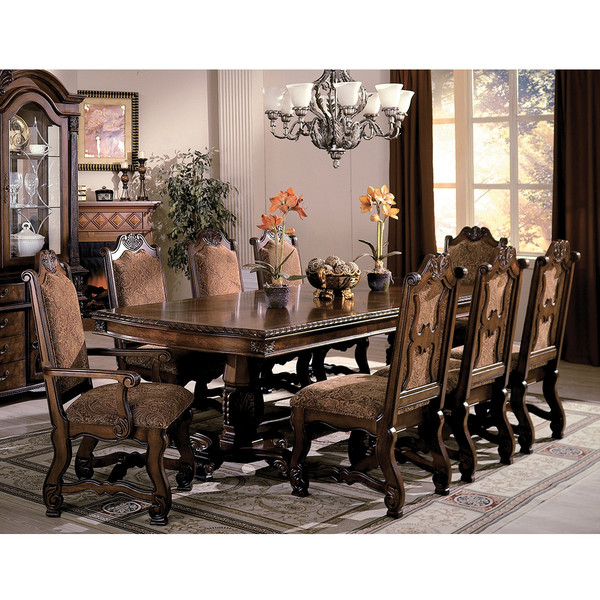 Crown Mark 2400 Neo Renaissance Dining Room Set