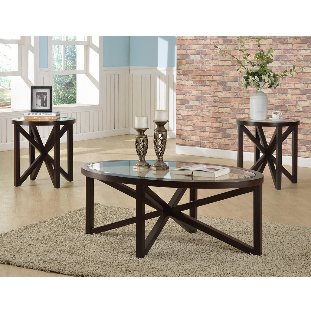 Phenomenal Crown Mark 4249 Cole Coffee And End Tables Ocoug Best Dining Table And Chair Ideas Images Ocougorg