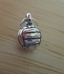 7 mm Solid Volleyball Water Polo Sterling Silver Charm!