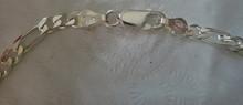 """8"""" Sterling Silver 3.5 mm Figaro Link Bracelet Sm Ankle"""