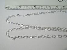 "12"" Sterling Silver 2.5 mm Figure 8 Ankle Bracelet"