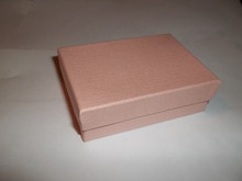 """set of FIVE 3x2"""" Fancy Pink Jewelry Gift #32 Boxes with cotton inside"""