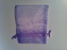 "30 Lavender Purple Organza Charm Jewelry Drawstring 3""x4"" Gift Bags"