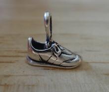 13x11mm Tennis Running Shoe Sterling Silver Charm