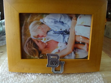 "BU Baylor University 4x6"" Wooden Photo picture Frame"