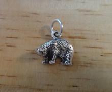 Polar Bear Sterling Silver Charm