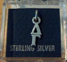 Greek Sorority Delta Gamma Sterling Silver Charm