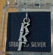 Greek Sorority Kappa Kappa Gamma Sterling Silver Charm