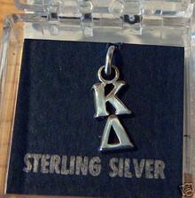 Greek Sorority Kappa Delta Sterling Silver Charm