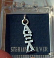 Greek Sorority Alpha Xi Delta Sterling Silver Charm