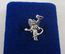 Large Tooth Fairy Sterling Silver Charm
