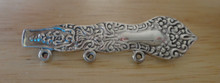 7g Spoon Handle Sterling Silver Charm Pin for 3 Charms