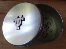 "4"" UT University of Texas Longhorns Metal Gift Tin"