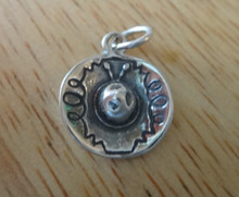 Small Mexican Sombrero Hat Sterling Silver Charm