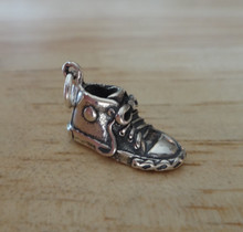 High Top, Tennis, Sneaker Shoe Sterling Silver Charm