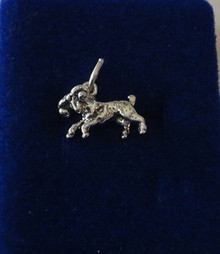 Aries Ram Sign of the Zodiac Sterling Silver Charm