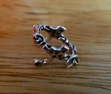 Sterling Silver 3D 18x20mm Horse Bit Pelham Bridle Tack Charm