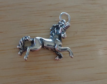 16x20mm Unicorn horse Sterling Silver Charm