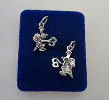 Spelling Bee Sterling Silver Charm