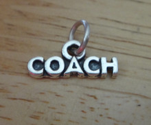 16x7mm says Coach Sterling Silver Charm
