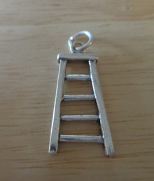 Ladder Tool Equipment Sterling Silver Charm!