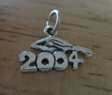 *SALE* Sterling Silver 2004 Charm with Graduation Cap!!
